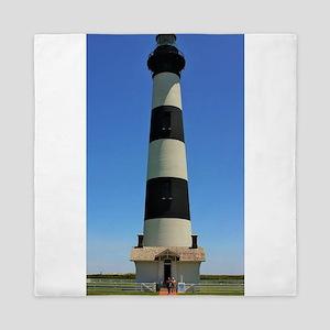 Bodie Island Lighthouse Queen Duvet
