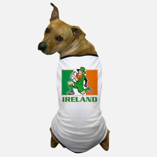Irish leprechaun rugby Dog T-Shirt