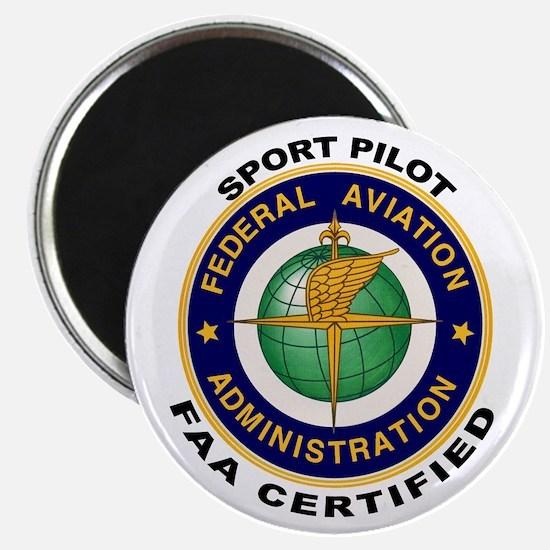 FAA Certified Sport Pilot Magnet