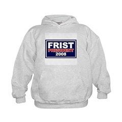 BILL FRIST PRESIDENT 2008 Hoodie
