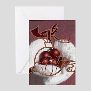 Mittens Ornament Greeting Card