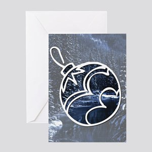 Forest Ornament Greeting Card