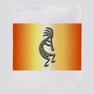 Kokopelli Throw Blanket