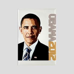 Obama Portrait Rectangle Magnet