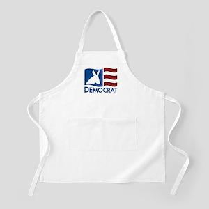 Democratic Flag BBQ Apron
