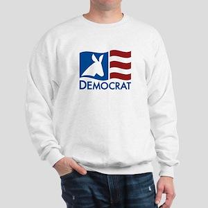 Democratic Flag Sweatshirt