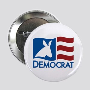 "Democratic Flag 2.25"" Button (10 pack)"