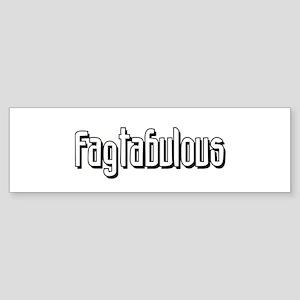 Fagtabulous Bumper Sticker