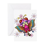 cacats and cosmos Greeting Card