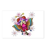 cacats and cosmos Postcards (Package of 8)