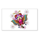 cacats and cosmos Sticker (Rectangle 10 pk)