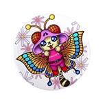 """cacats and cosmos 3.5"""" Button (100 pack)"""