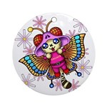 cacats and cosmos Ornament (Round)
