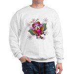 cacats and cosmos Sweatshirt