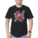 cacats and cosmos Men's Fitted T-Shirt (dark)