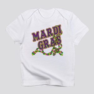 Mardi Gras in Purple and Green Infant T-Shirt