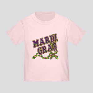 Mardi Gras in Purple and Green Toddler T-Shirt