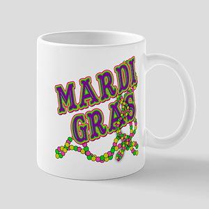 Mardi Gras in Purple and Green Mug