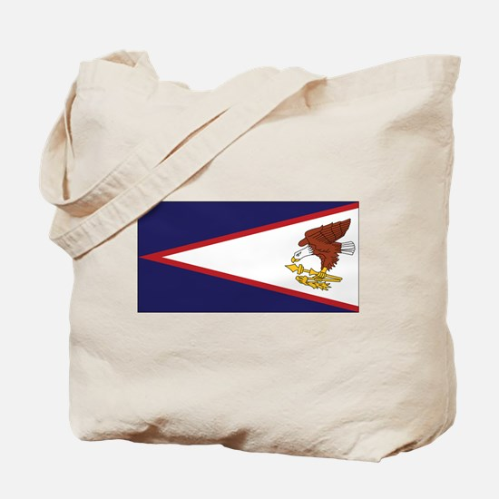 Am. Samoa Flag Tote Bag