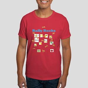 Rally Rocks v6 Dark T-Shirt