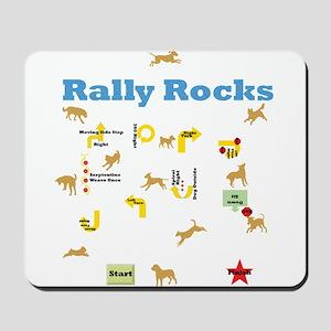 Rally Rocks v6 Mousepad
