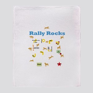 Rally Rocks v6 Throw Blanket