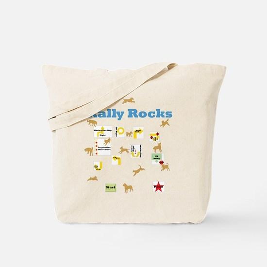 Rally Rocks v6 Tote Bag