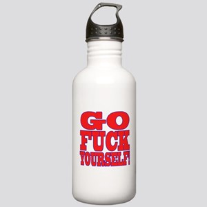 Go F Yourself Stainless Water Bottle 1.0L