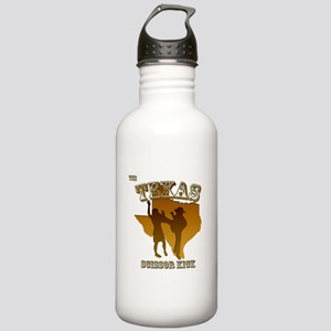 Texas Scissor Kick Stainless Water Bottle 1.0L