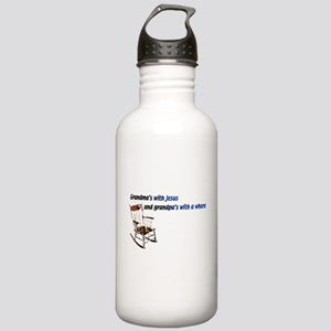 Grandma's with Jesus Stainless Water Bottle 1.0L