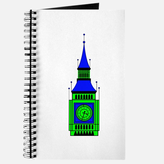 Cute Big ben Journal