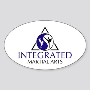 Integrated Martial Arts Oval Sticker