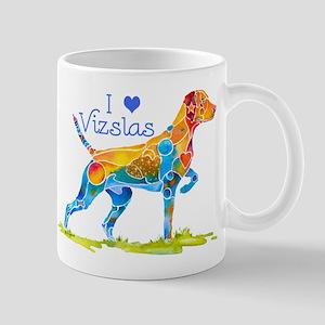 I LOVE HUNGARIAN VIZSLAS GIFTS Mug