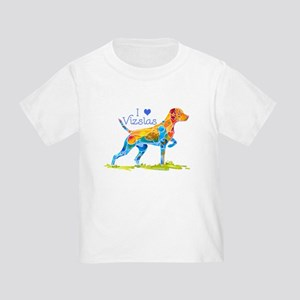 I LOVE HUNGARIAN VIZSLAS GIFTS Toddler T-Shirt