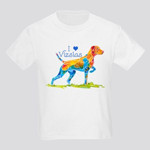 I LOVE HUNGARIAN VIZSLAS GIFTS Kids Light T-Shirt