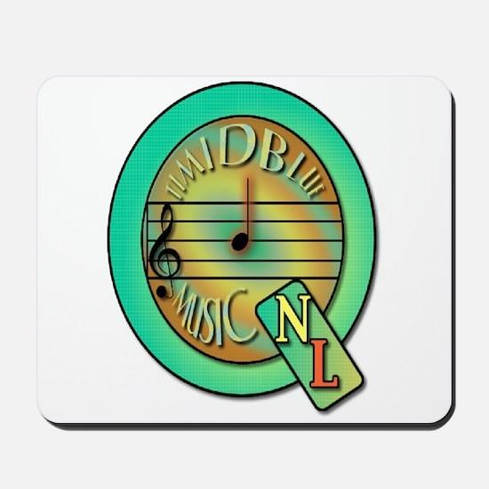 Quarter Note Lab Logo Mousepad
