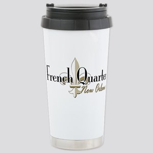 French Quarter NO 16 oz Stainless Steel Travel Mug
