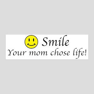 Smile life 42x14 Wall Peel
