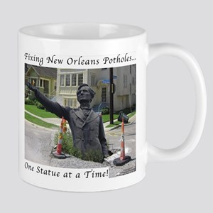 Fixing New Orleans Potholes Mugs