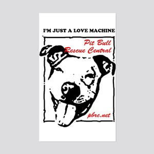Love Machine Sticker (Rectangle)