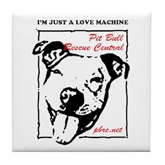 Love Machine Tile Coaster