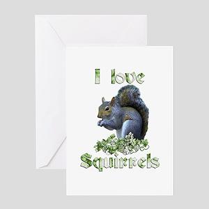 Squirrels Greeting Card