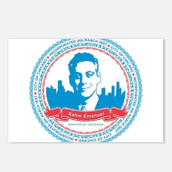 Mayor Rahm Postcards (Package of 8)