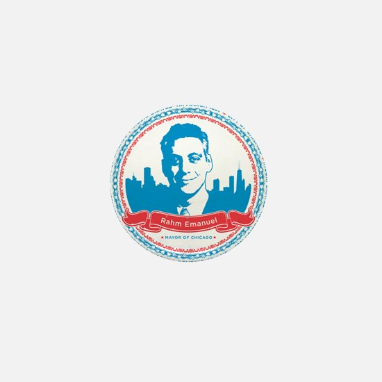 Mayor Rahm Mini Button