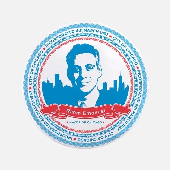 "Mayor Rahm 3.5"" Button"