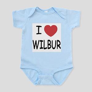I heart Wilbur Infant Bodysuit