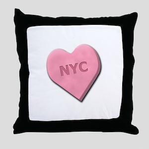 Sweetheart NYC Throw Pillow