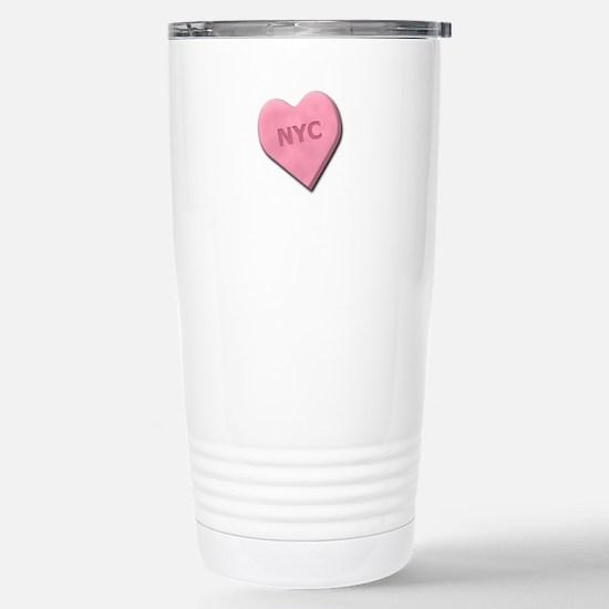 Sweetheart NYC Stainless Steel Travel Mug