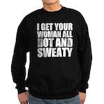 Sweaty Man Sweatshirt (dark)