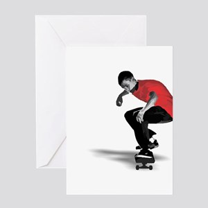 Skater Greeting Card